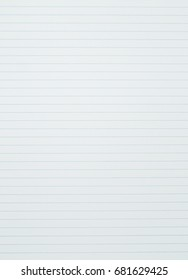 Lined crumpled white paper background image photo