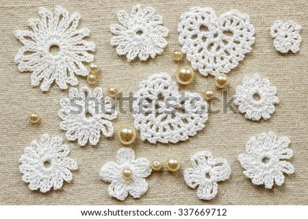 Linen Creative Cotton Irish Crochet Lace Stock Photo Edit Now