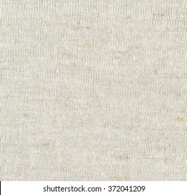 Linen Knitted Pattern. Fabric Texture Background
