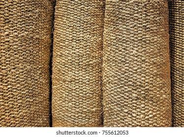 Linen Rolls Background