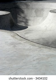 Lines and curves of a skate park