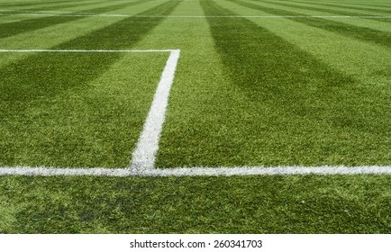 Lines of soccer field