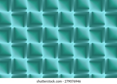 Lines and stripes in aqua
