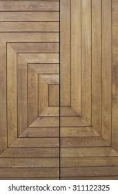 The Lines of Wooden Ceiling - Schaffhausen, Switzerland
