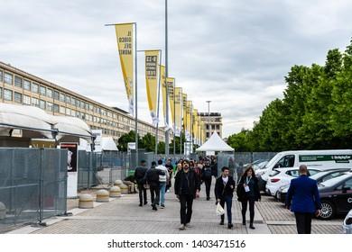 Lingotto Fiere (Torino, Italy) - 13rd May 2019 - Salone Internazionale del Libro di Torino 2019 - International book fair Turin 2019