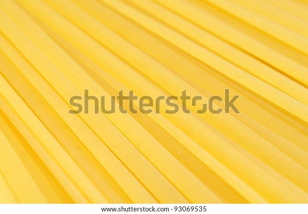 Linguine Pasta Close-up