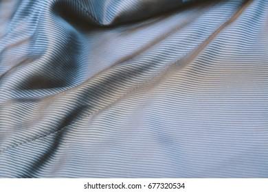 Lining fabric close up background
