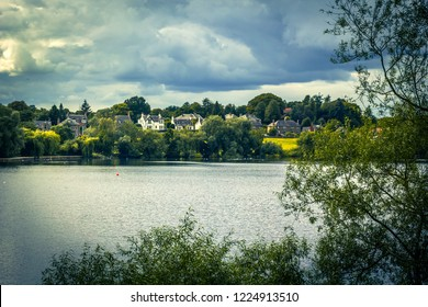 Linlithgow Loch in Linlithgow, Scotland