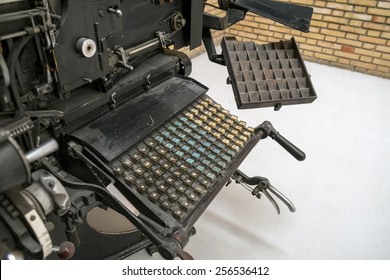 Linotype was the industry standard for newspapers, magazines and posters from the late 19th century
