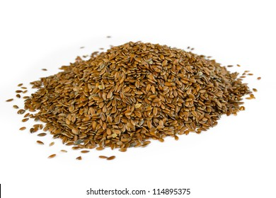Linseeds isolated