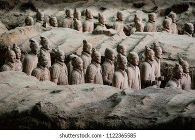 Lintong Xian China October 15 2014 Chinas Terracotta Warriors