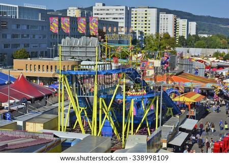 Linz Austria October 02 Unidentified People Stock Photo Edit Now