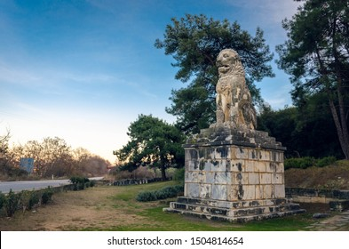 The Lion of Amphipolis is a 4th century BC tomb sculpture in Amphipolis of Macedonia.It was set up in honor of Laomedon of Mytilene, an important general of Alexander the Great king of Macedon.