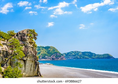 Lion Crag (Shishi-iwa) in Kumano, Japan.