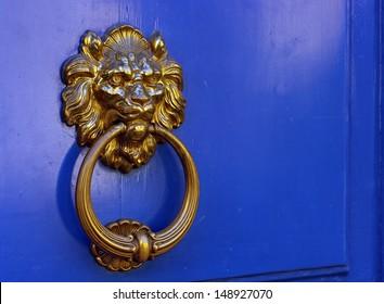 Lion Door Knocker at Paris France & Lion Door Knocker Images Stock Photos u0026 Vectors | Shutterstock