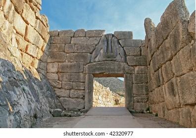 Lion Gate at Mycenae