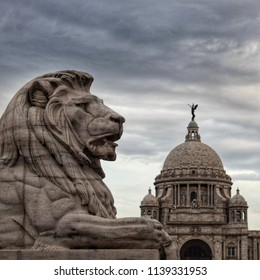 The Lion Gate, Victoria Memorial Hall, Kolkata