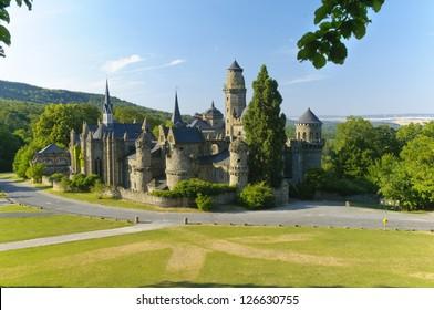 The Lions' Den is a pleasure palace built from 1793 in Kassel Wilhelmshohe