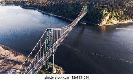 Lions Gate Bridge, Vancouver Canada