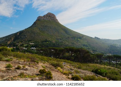 Lion's Head mountain. Cape Town