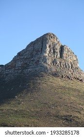 The Lion's Head. It is a mountain in Cape Town, South Africa, between Table Mountain and Signal Hill.