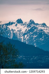 the lions mountain,Vancouver BC Canada