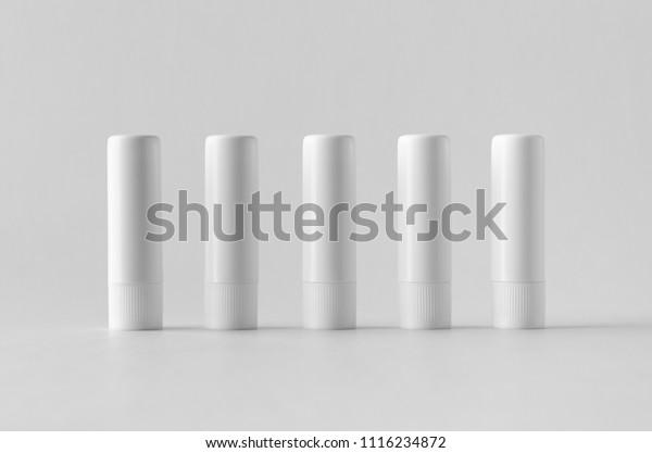 Lip Balm Packaging Mockup Stock Photo (Edit Now) 1116234872