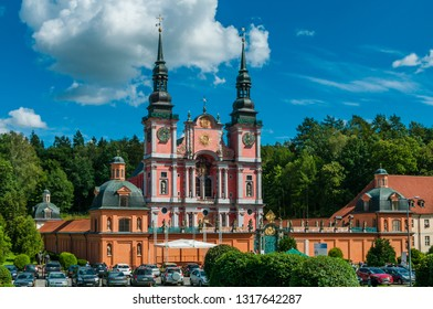 Święta Lipka (Heilige Linde) basilica in the Warmia-Masuria Province; Poland