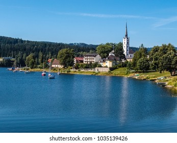 Lipno Dam And Frymburk - Sumava National Park, Czech Republic, Europe