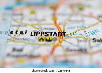 Lippstadt on map.
