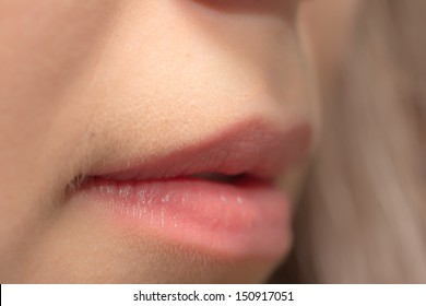lips as background