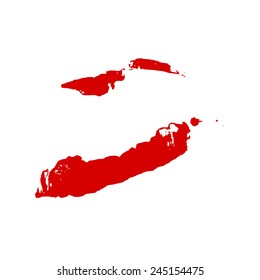 Lips print