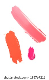 Lipstick smudged