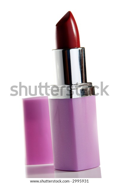 Lipstick standing on a table