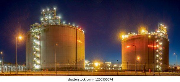 Liquefied natural gas LNG receiving station terminal