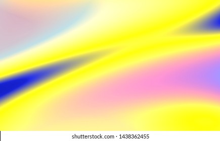 Liquid Chromatic Holographic Texture, Wrinkled Foil Background. Gas Fuel Rainbow.
