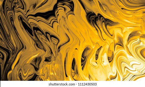 Liquid gold abstract background.
