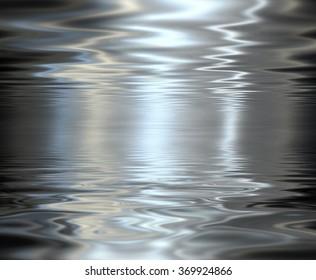 Liquid metal texture, metallic background.