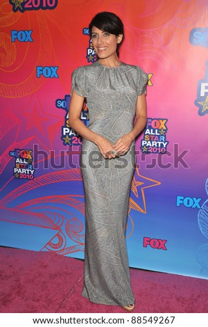 Lisa Edelstein Star House Fox T Vs Stock Photo Edit Now 88549267