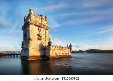Lisboa - Belem tower at day