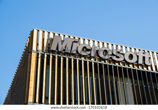 LISBOA, PORTUGAL - NOVEMBER 30: Microsoft building in The Park of the Nations on November 30, 2013 in Lisbon,Portugal.It is an area that was transformed for the 1998 World Exhibition near Tagus River.