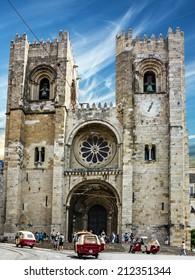 Lisbon Cathedral church Se (Santa Maria Maior de Lisboa), Portugal