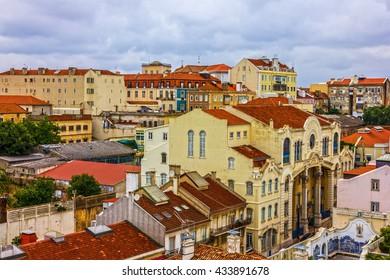 Lisbon city view, Portugal