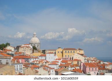 Panteão,Lisbon, Lisbon District, Lisbon Region, Portugal