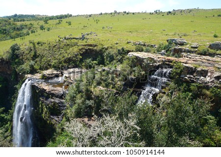 Lisbon Falls in South Africa near Kruger National Park