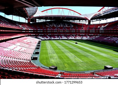 Lisbon, Portugal, august 2019, Estadio da Luz, it is used mostly for association football matches, hosting the home games of Portuguese club S.L. Benfica, its owner.
