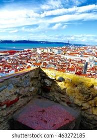 LISBON PORTUGAL CITY VIEW