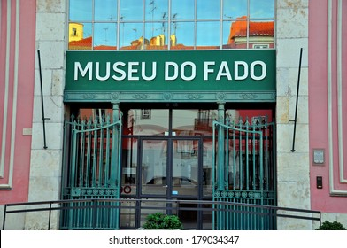 LISBON, PORTUGAL - DECEMBER 21: Facade of Fado museum building in Lisbon on december 21, 2013. Lisbon is a capital and the largest city of Portugal.