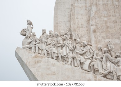 Lisbon (Portugal) -  Padrão dos Descobrimentos (Monument to the Discoveries) is a monument on the bank of the Tagus River estuary