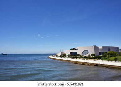 Lisbon, portugal - June 11, 2017: The complex of the Champalimaud Foundation Centre for the Unknown. Research centre in the field of biomedicine. Designed by the architect, Charles Correa